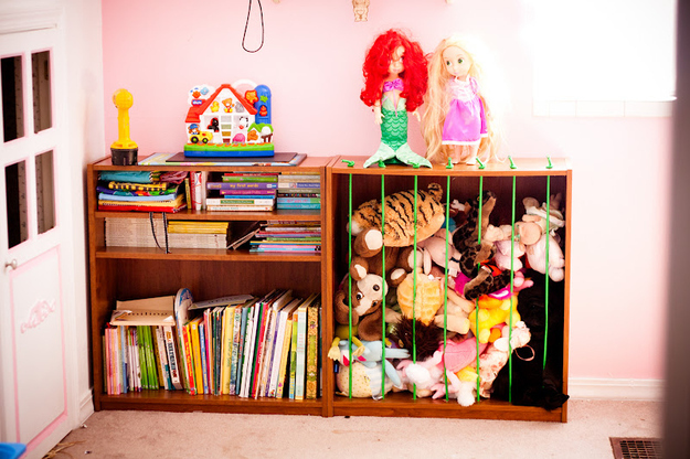 Stuffed Animals Can Be A Challenge. We Have All Seen The Hanging, Mesh  Holders And The Hammock. But I Really Liked This DIY Idea Because The Kids  Can Grab ...